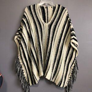 Sweater Poncho